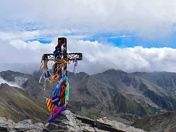 Trail of the Pic du Canigou hike in French Pyrenees