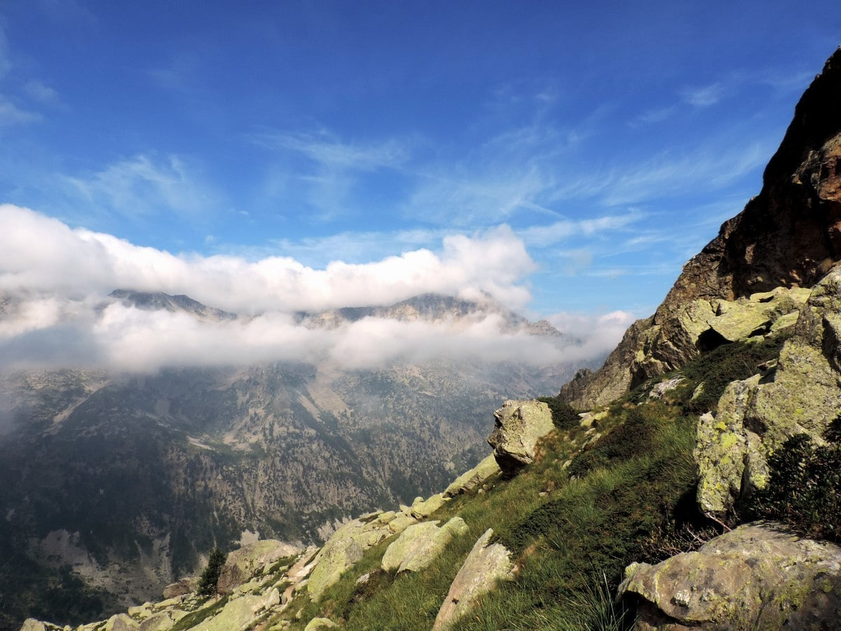 View from the Rifugio Remondino Hike in Alpi Marittime National Park, Italy
