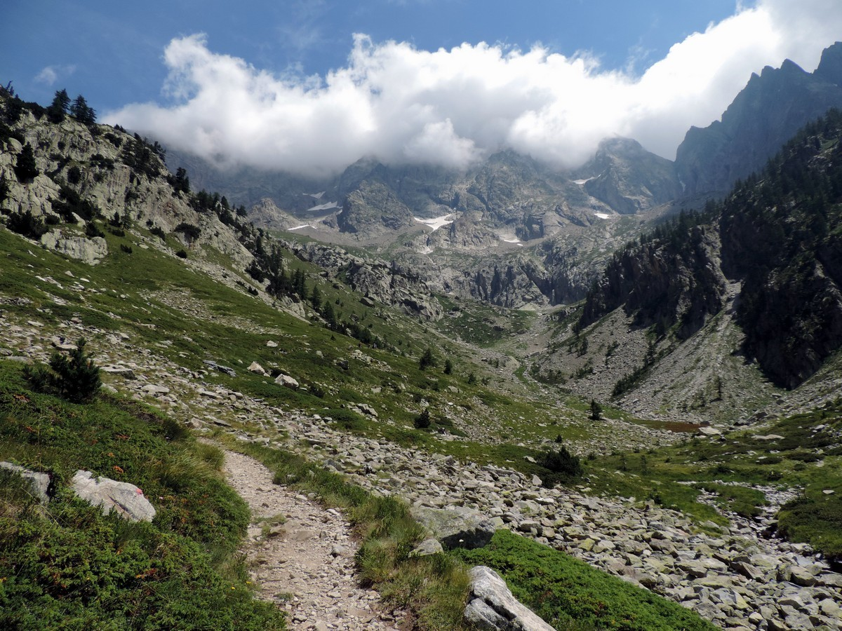 Trail of the Vallone Argentera Hike in Alpi Marittime National Park, Italy
