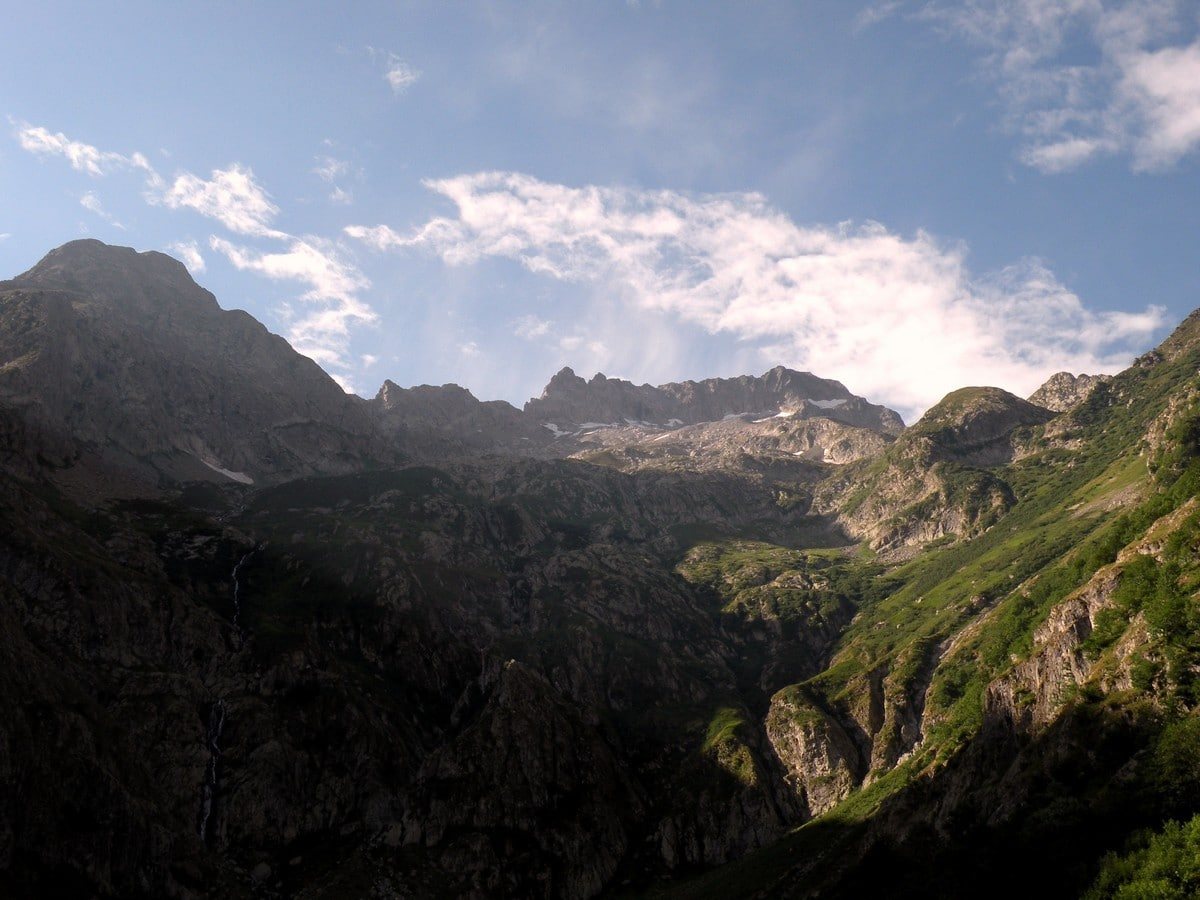 The Monte Gelas from the Il Piano del Praiet Hike in Alpi Marittime National Park, Italy