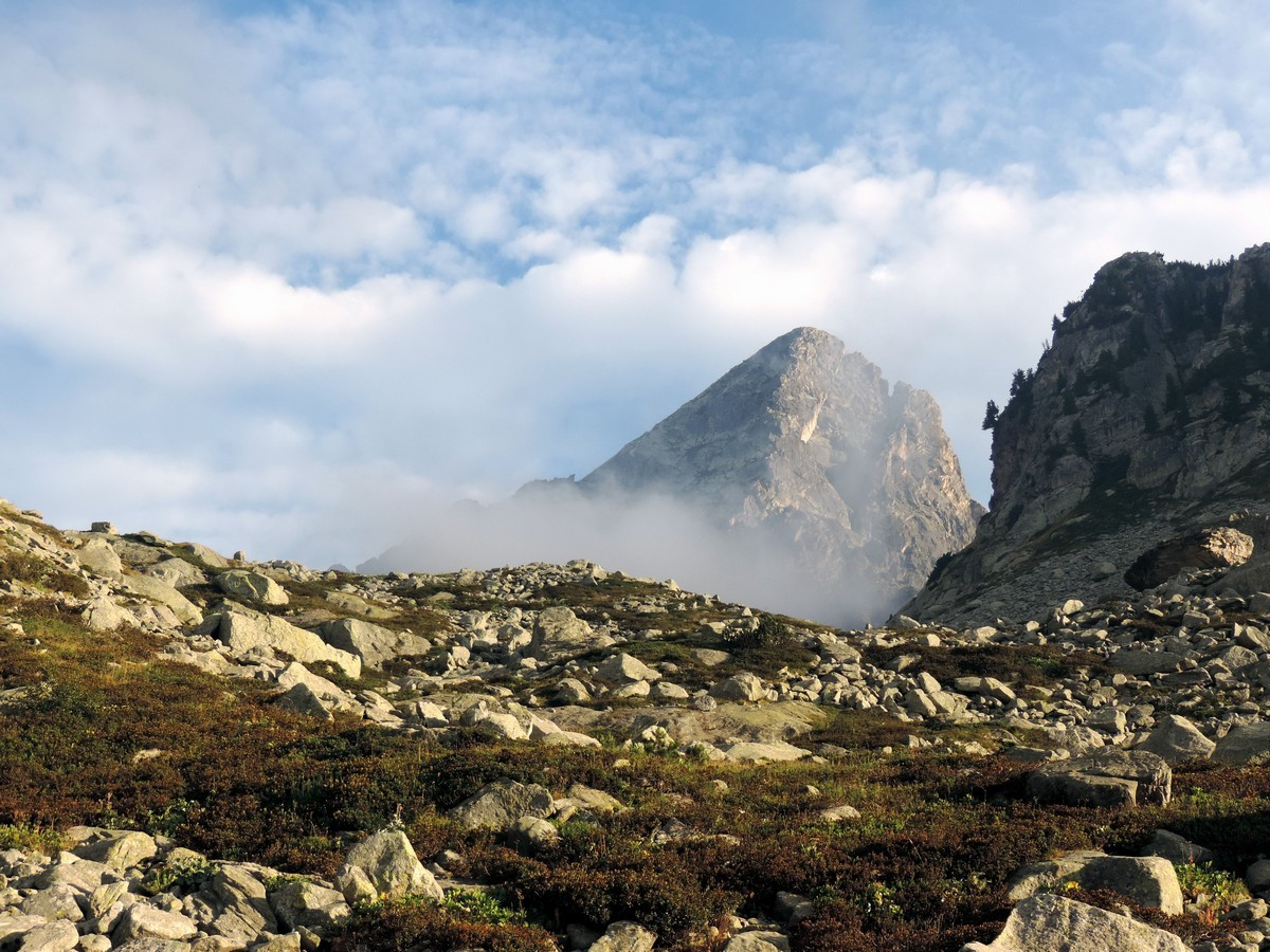 The Monte Frisson on the Laghi Arbergh Hike in Alpi Marittime National Park, Italy