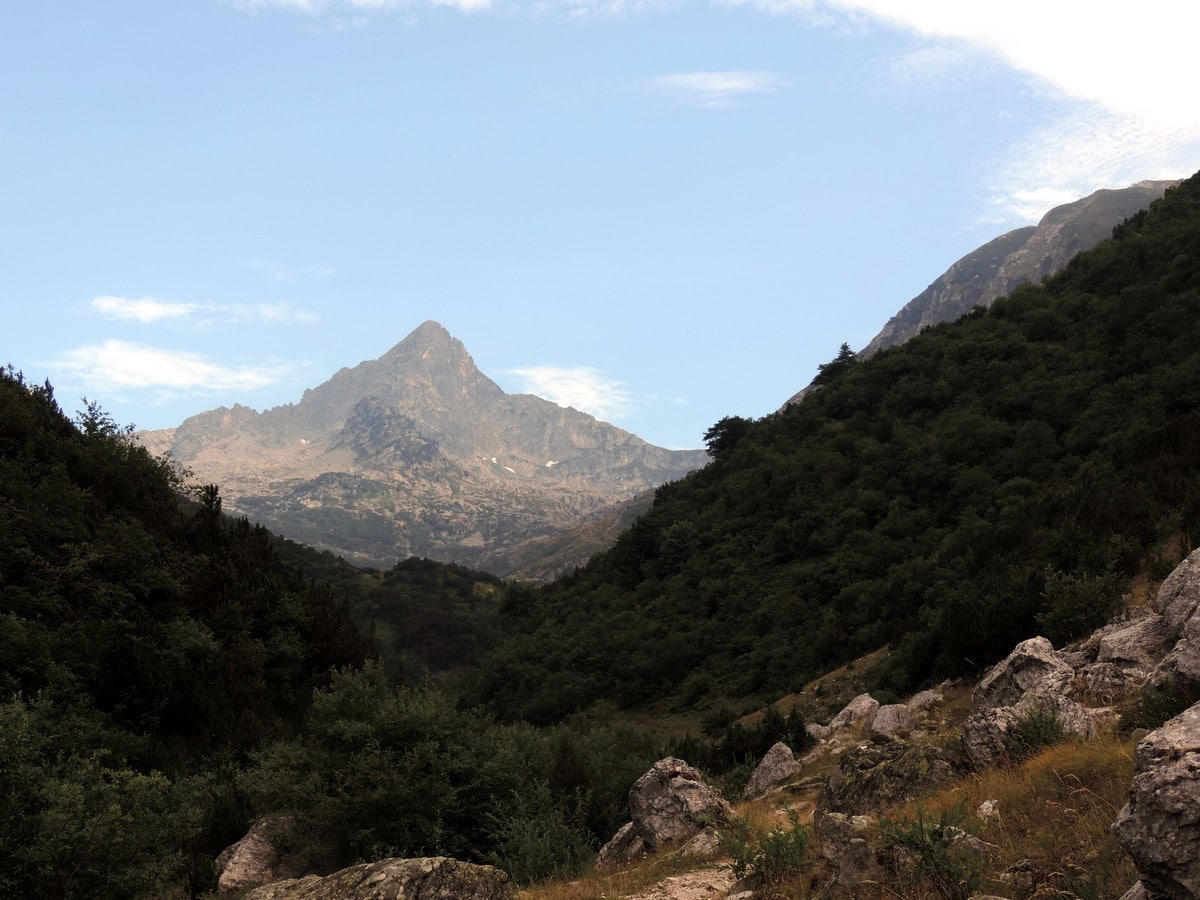 Monte Frisson from the Laghi Arbergh Hike in Alpi Marittime National Park, Italy