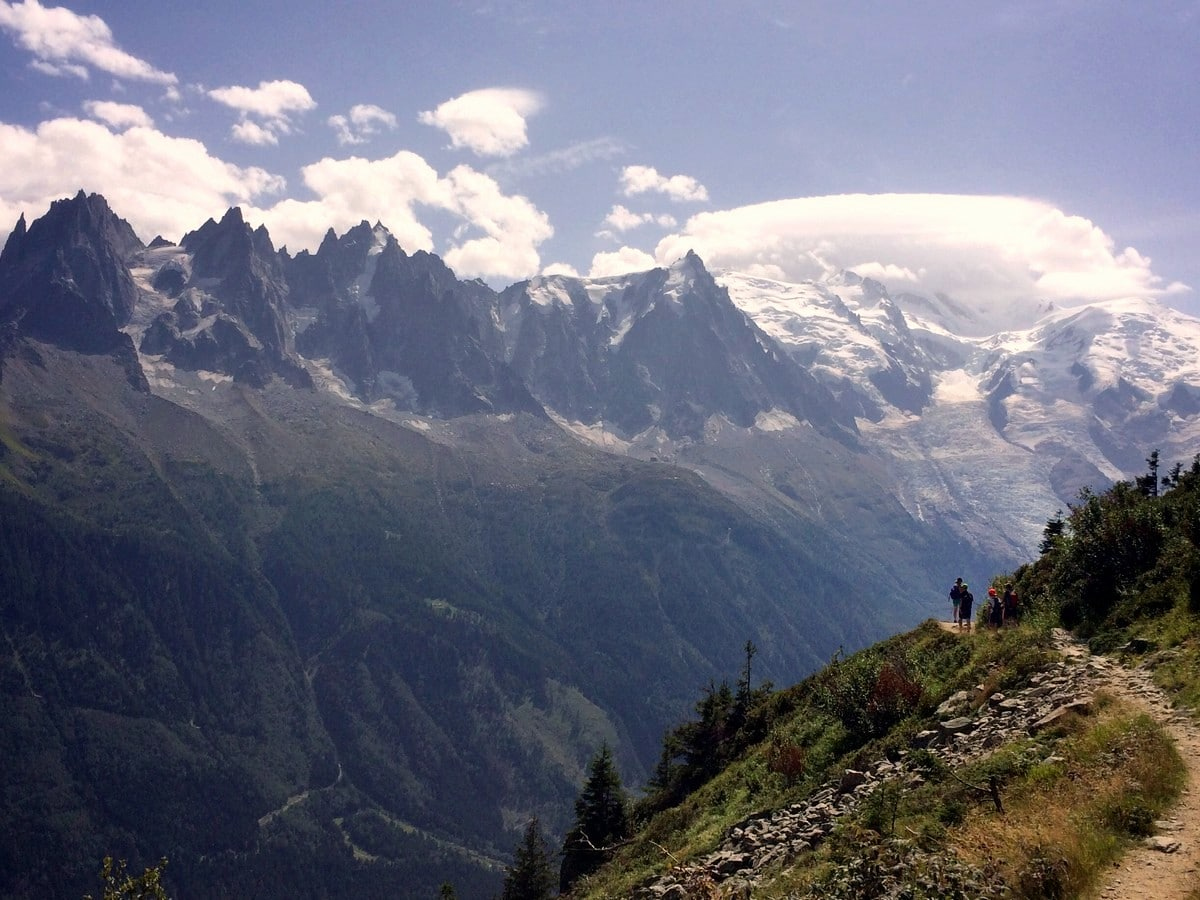 Aiguilles de Chamonix from the Grand Balcon Sud Hike in Chamonix, France