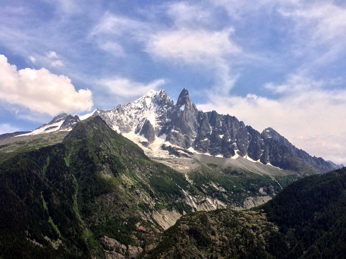 Hiking to the Lac Blanc