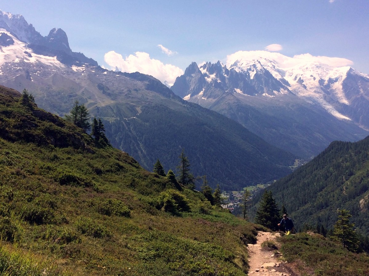 Hike to the Les Posettes from Chamonix