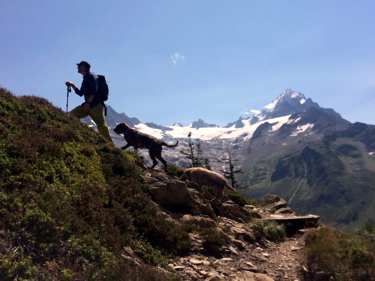 Hiking the Aiguilletteis des Posettes from Chamonix