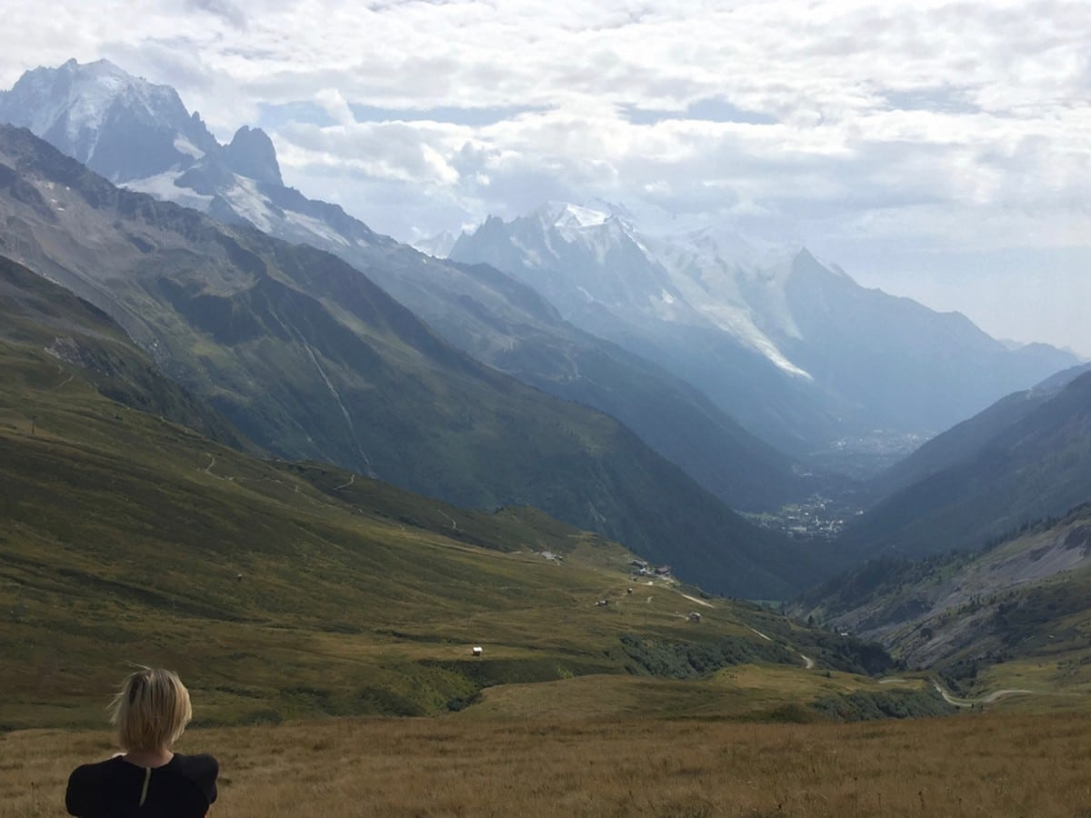 Hike to the Col de Balme pass from Chamonix