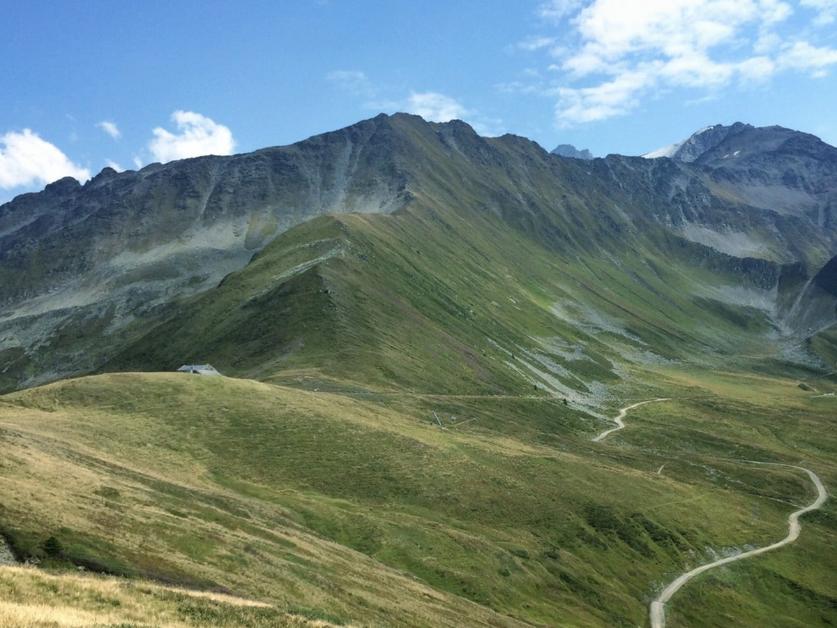 Best trail to Col de Balme