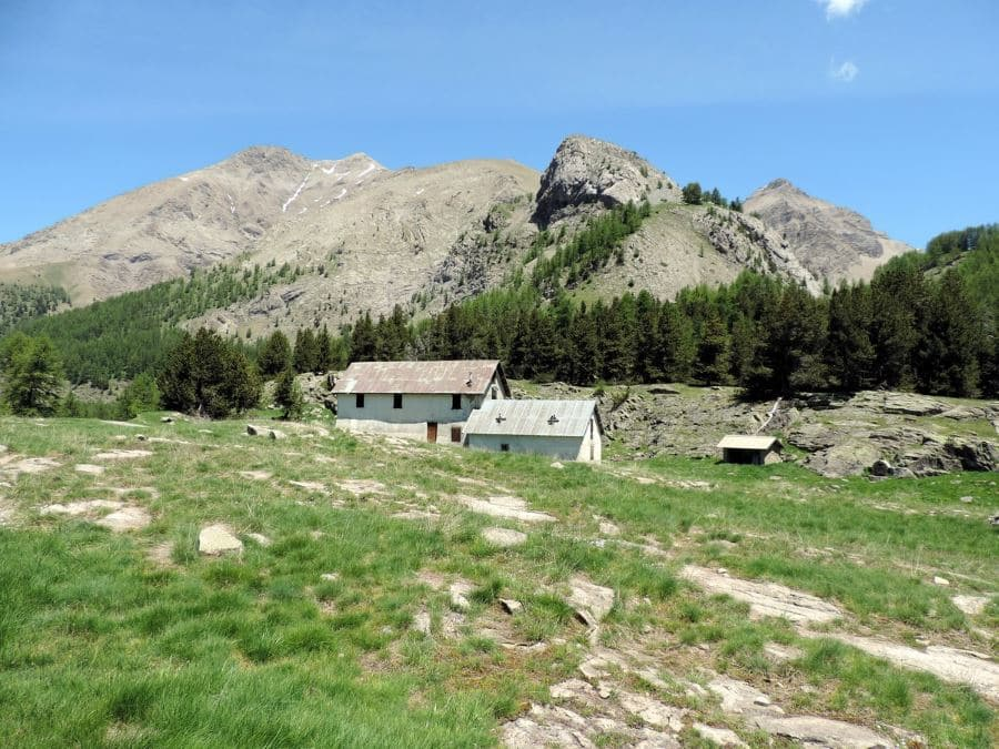 The farmer hut on the Lac d'Allos Hike in Mercantour National Park, France