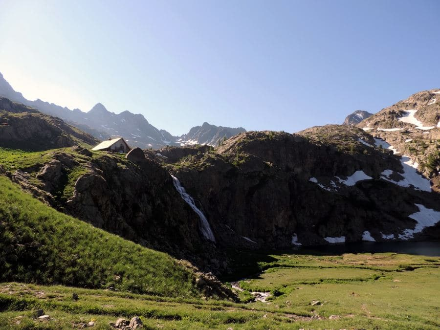 Trail to the hut on the Lacs de Vens Hike in Mercantour National Park, France