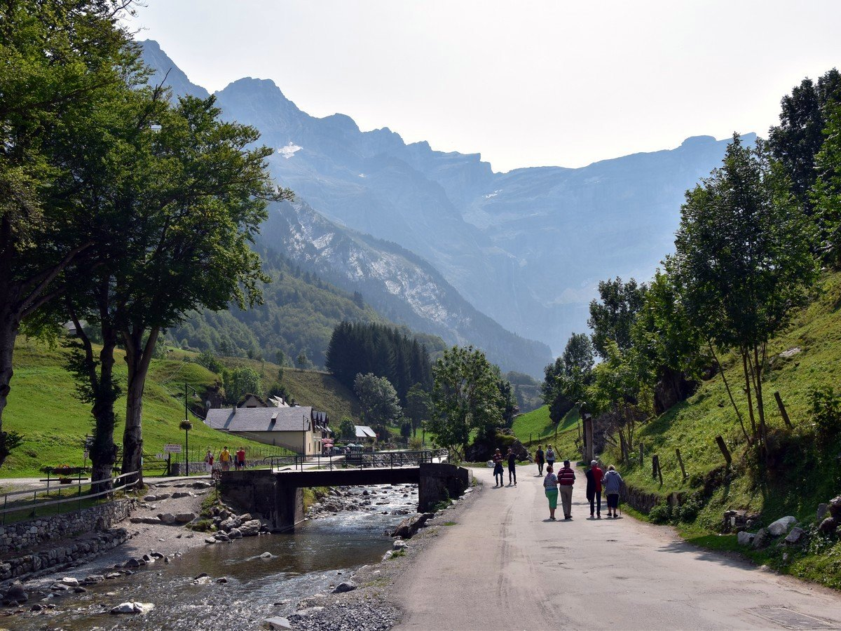 Cirque de Gavarnie hike is one of top 10 hikes in French Pyrenees