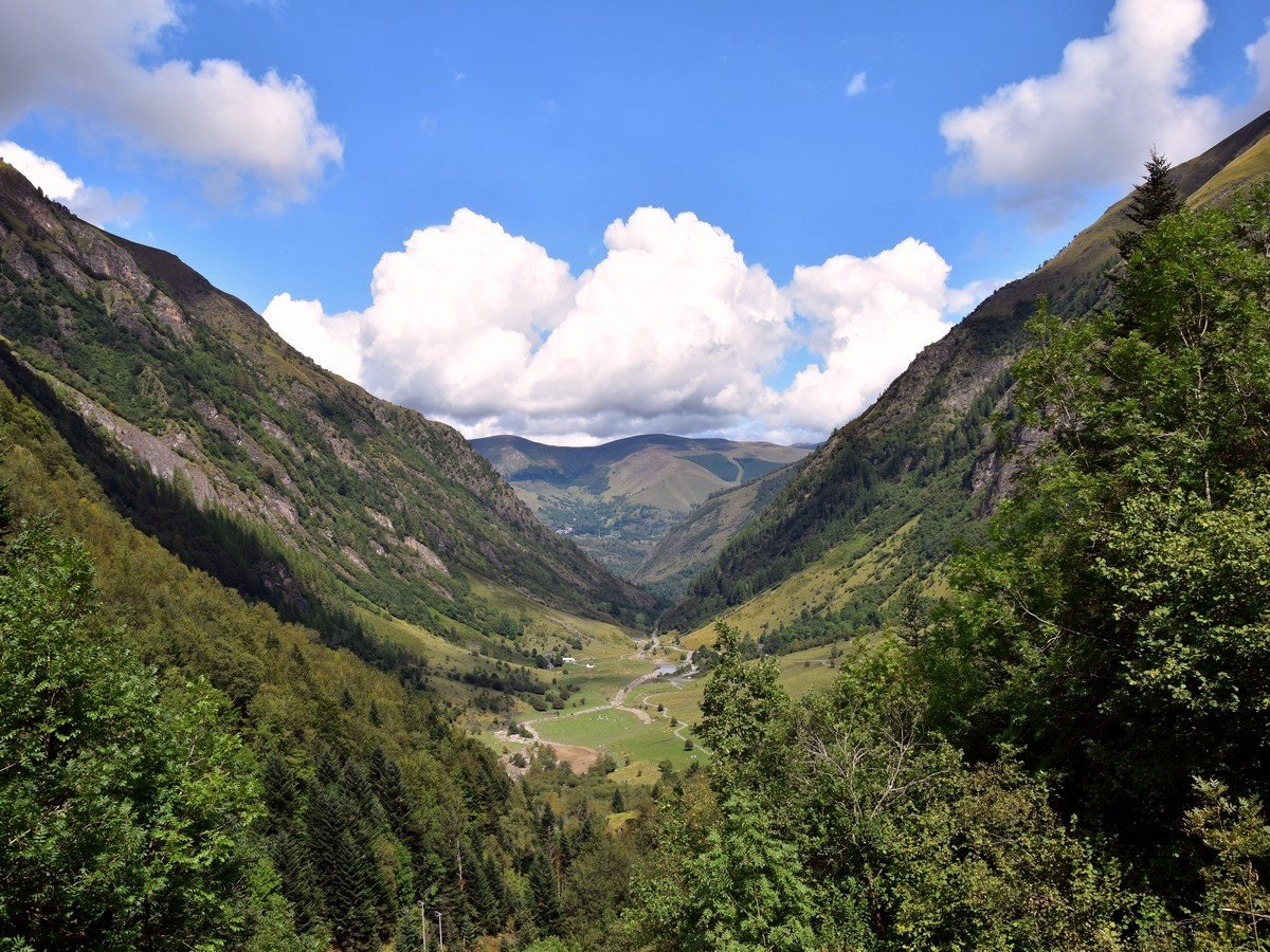 A Valley in the Pyrenees