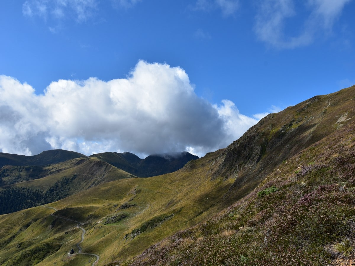 Family-friendly hike to the Mont Né summit in French Pyrenees