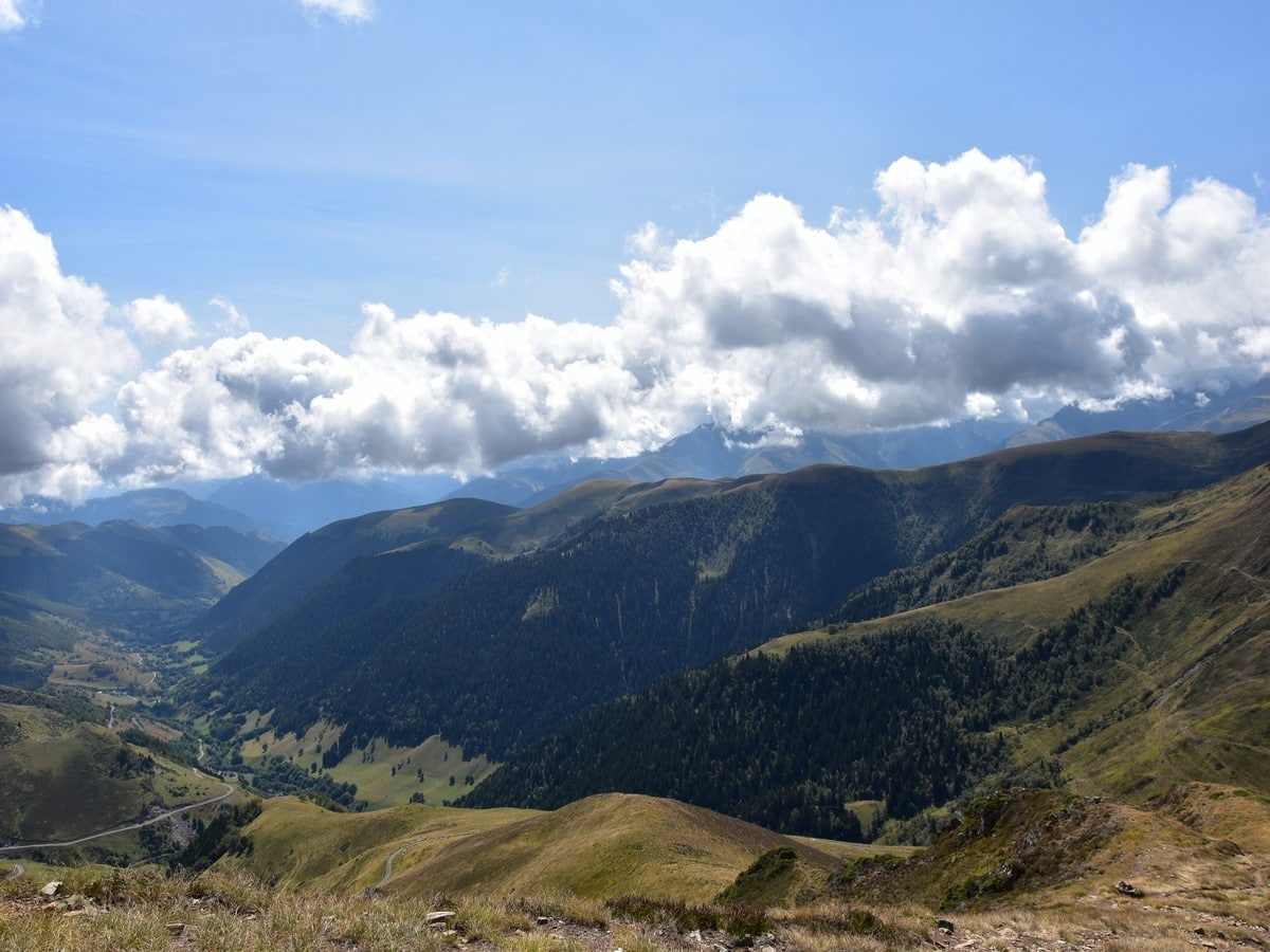 Hiking to the Mont Né in French Pyrenees