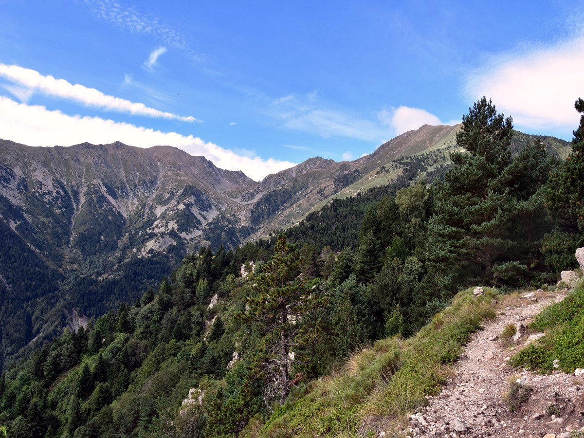 Massif du Canigou from the Pic du Canigou Hike in French Pyrenees