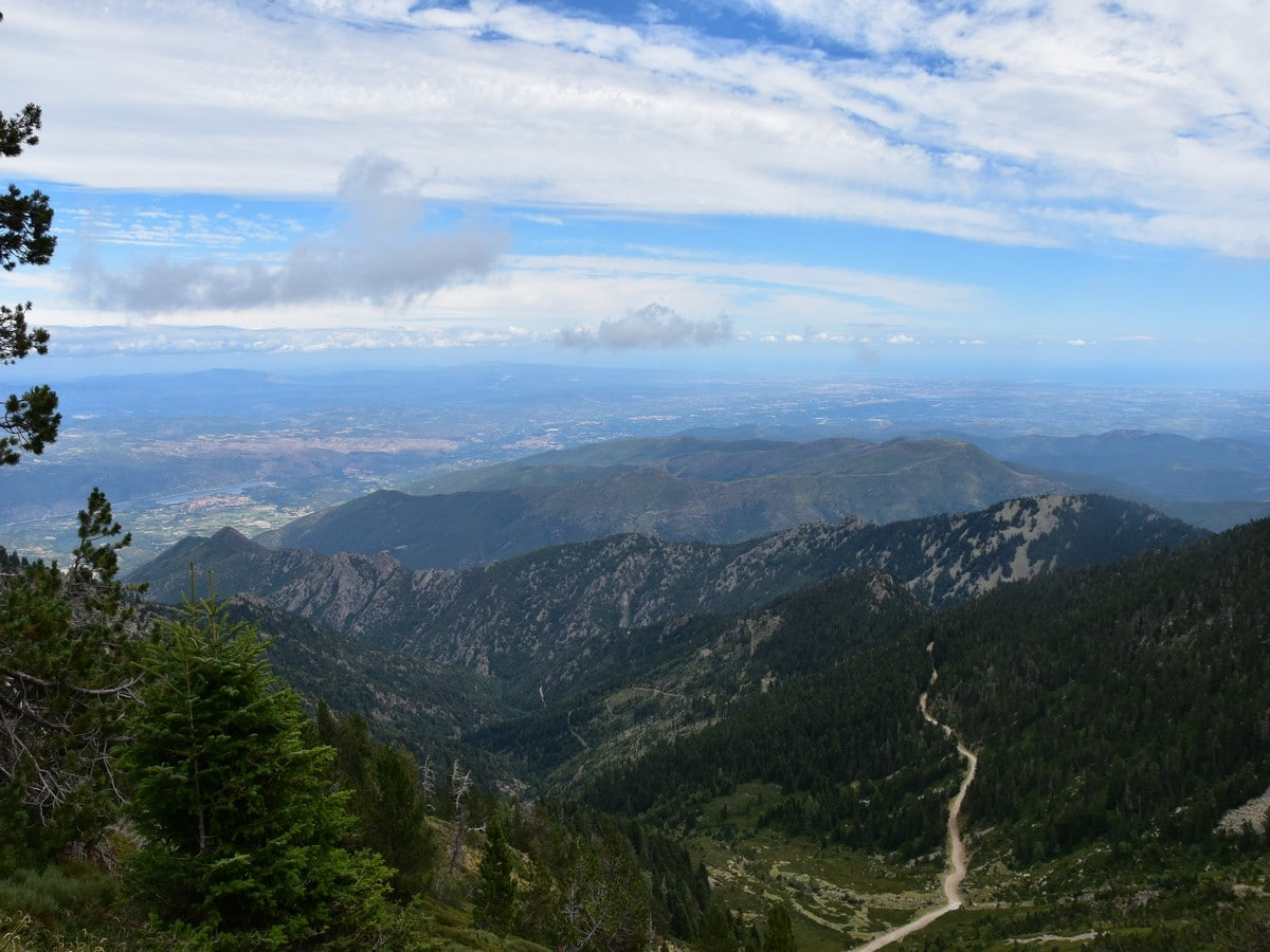 Stunning views from the Pic du Canigou Hike in French Pyrenees
