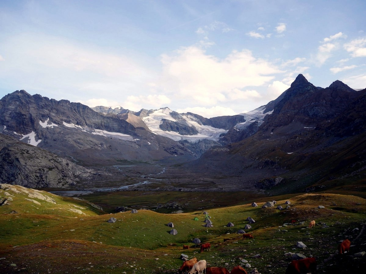 Glacier du Grand Mean hike is one of top 10 Vanoise National Park hikes
