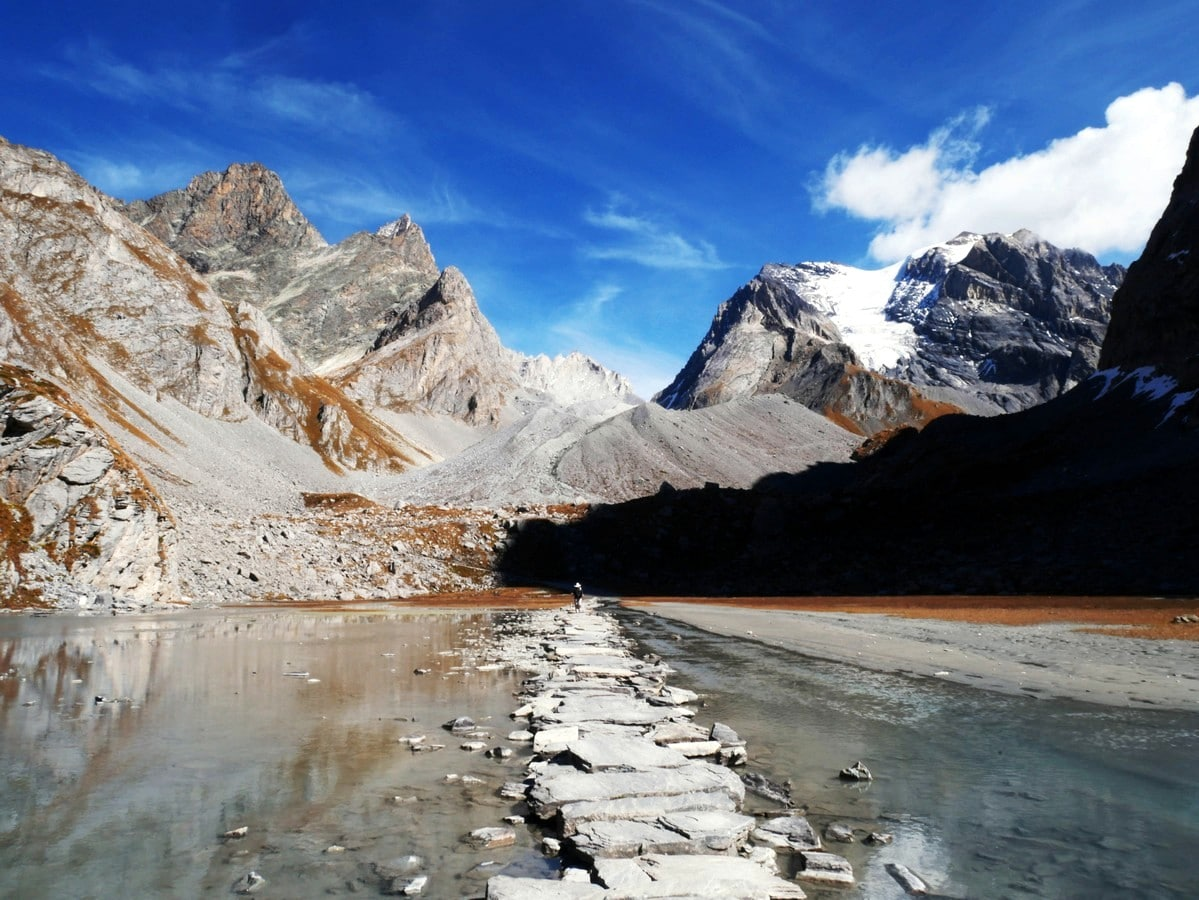 Lac des Vaches hike is one of top 10 Vanoise National Park hikes