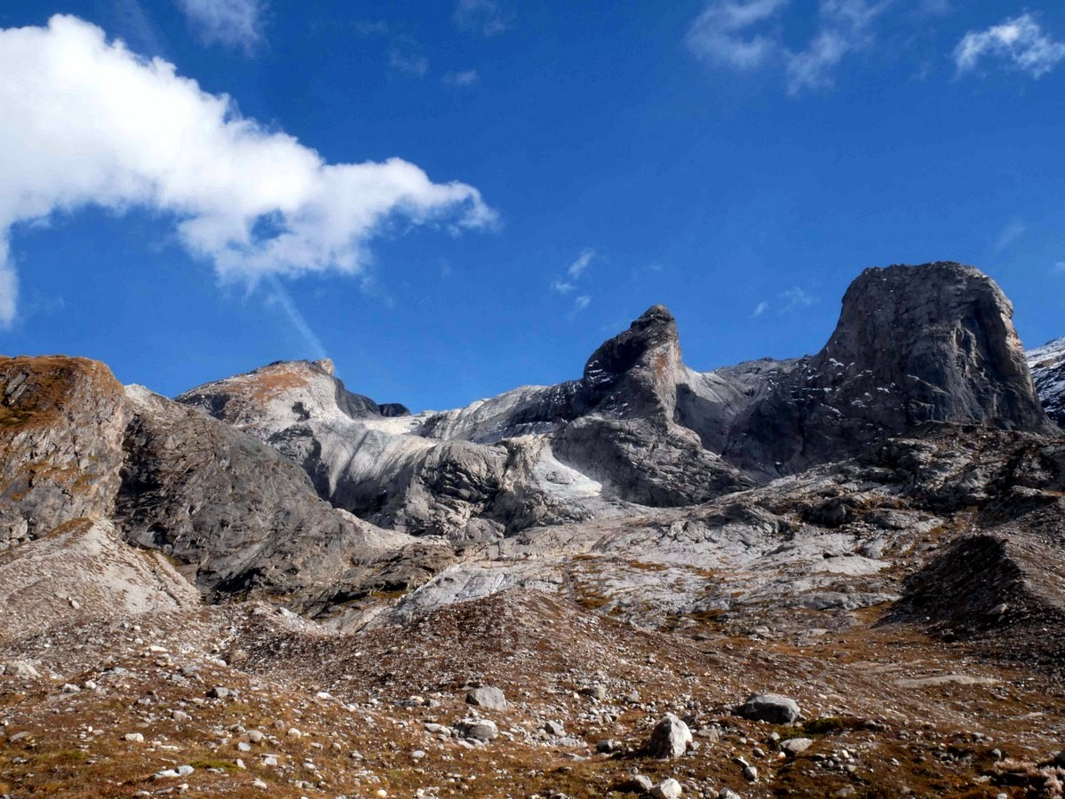 Views of the Lac des Vaches and Col de la Vanoise Hike in Vanoise National Park in France