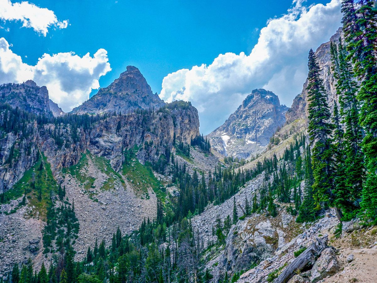 Trail of Garnet Canyon Hike in Grand Teton National Park