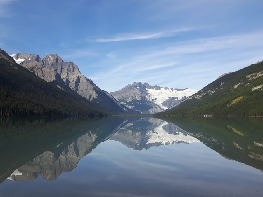 Near Glacier Lake you can find one of best backcountry campgrounds in Banff National Park