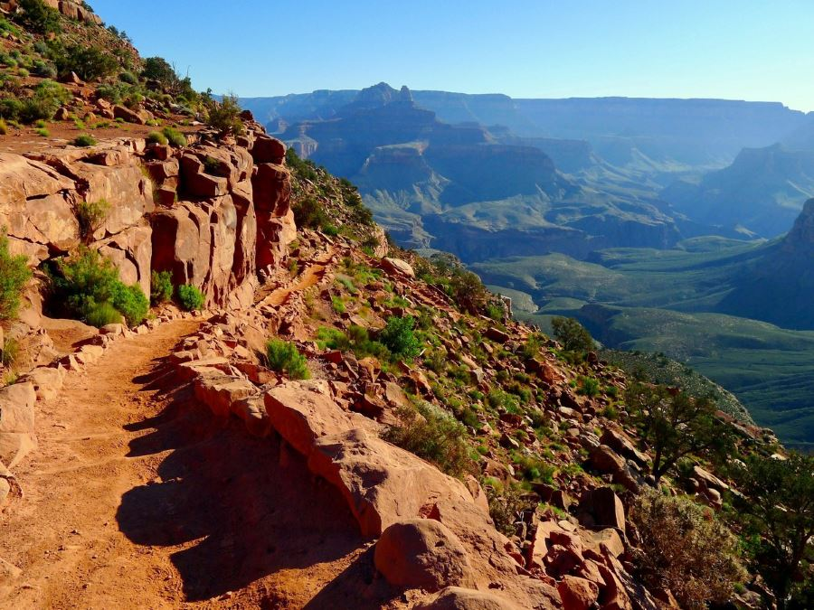 South Kaibab Trail is one of the best hikes in Grand Canyon National Park