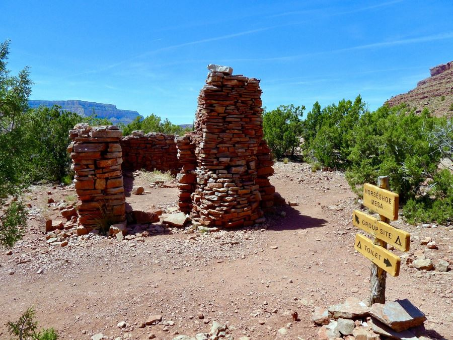 Grandview Trail hike is a great hike in Grand Canyon