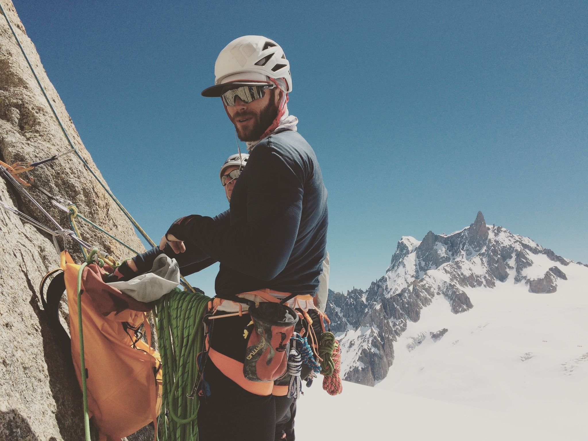 Climbing with a gear pieces of advice from Adventure Fitness with Mark Milburn