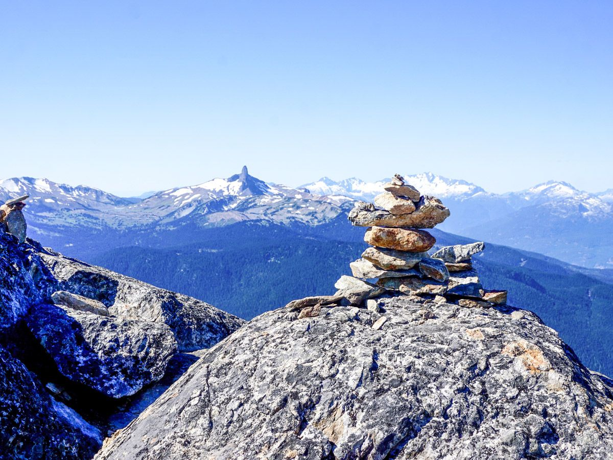 Views from the High Note Trail Hike in Whistler, British Columbia