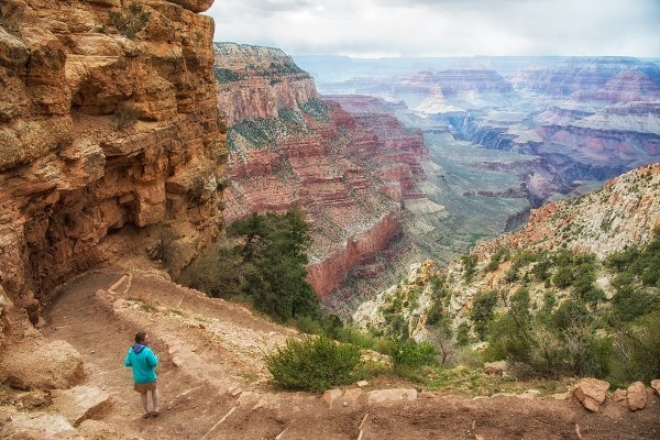 Hiking the world's most beautiful places includes hiking in Grand Canyon, Arizona