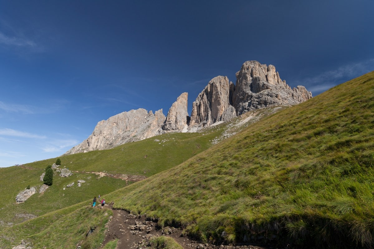 Trail of the Sassopiatto and Sassolungo Hike in Dolomites, Italy