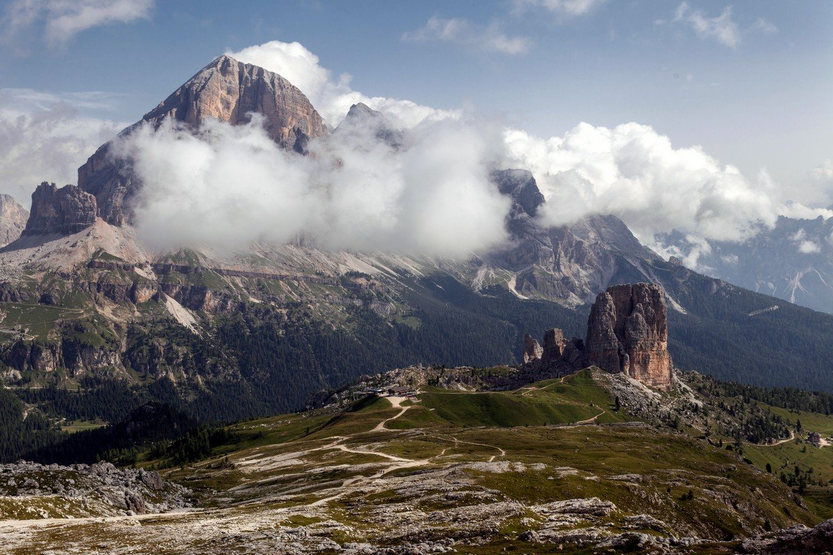 Nuvolau hike is one of top 10 hikes in the Italian Dolomites