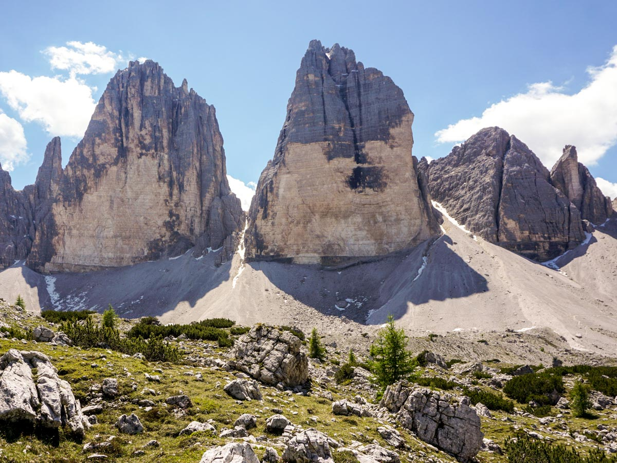 Tre Cime di Lavaredo Hike in Dolomites has amazing views