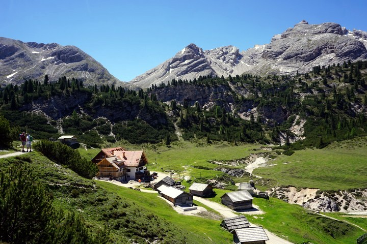Alpe di Sennes hike is one of top 10 hikes in the Italian Dolomites