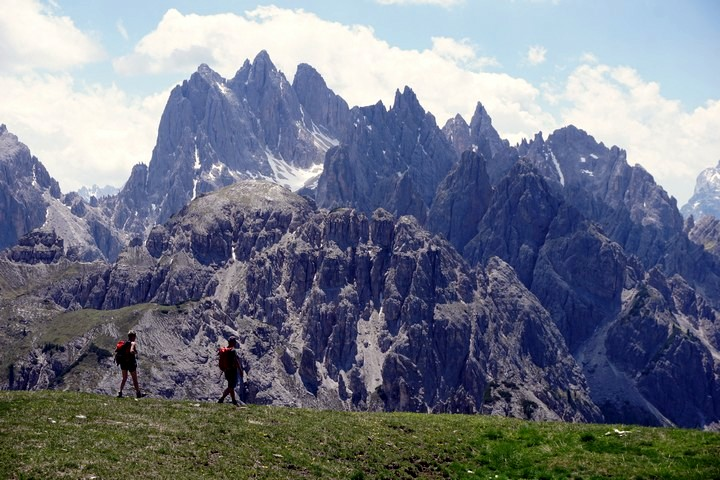Tre Cime di Lavaredo hike is one of top 10 hikes in the Italian Dolomites