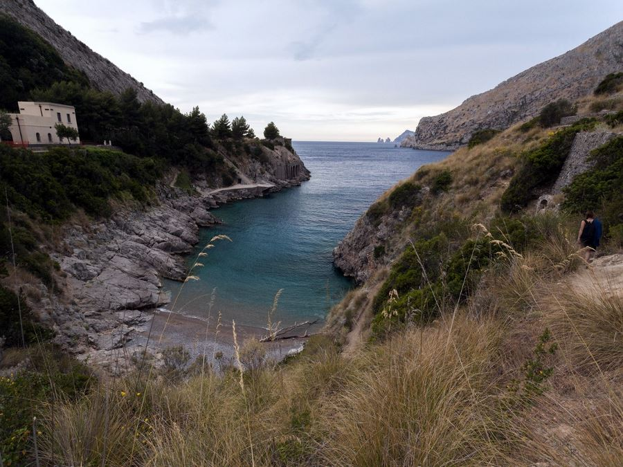 Bay of Ieranto trail should be included when planning your trip to Amalfi Coast