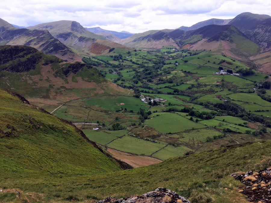 Newlands Horseshoe is a must-do hike in Lake District