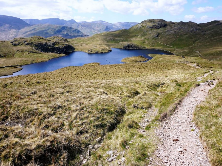 Angle Tarn on Roman Road Walk