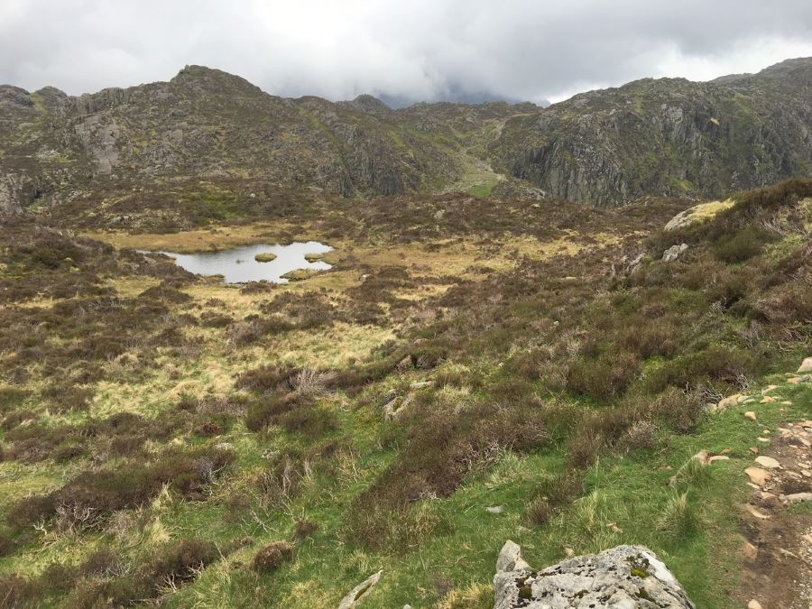Haystacks trail is one of 10 best hikes in Lake District, England
