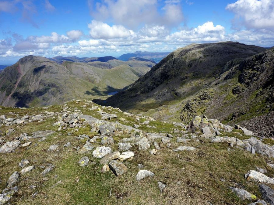 Trail of the Scafell Pike Hike in Lake District