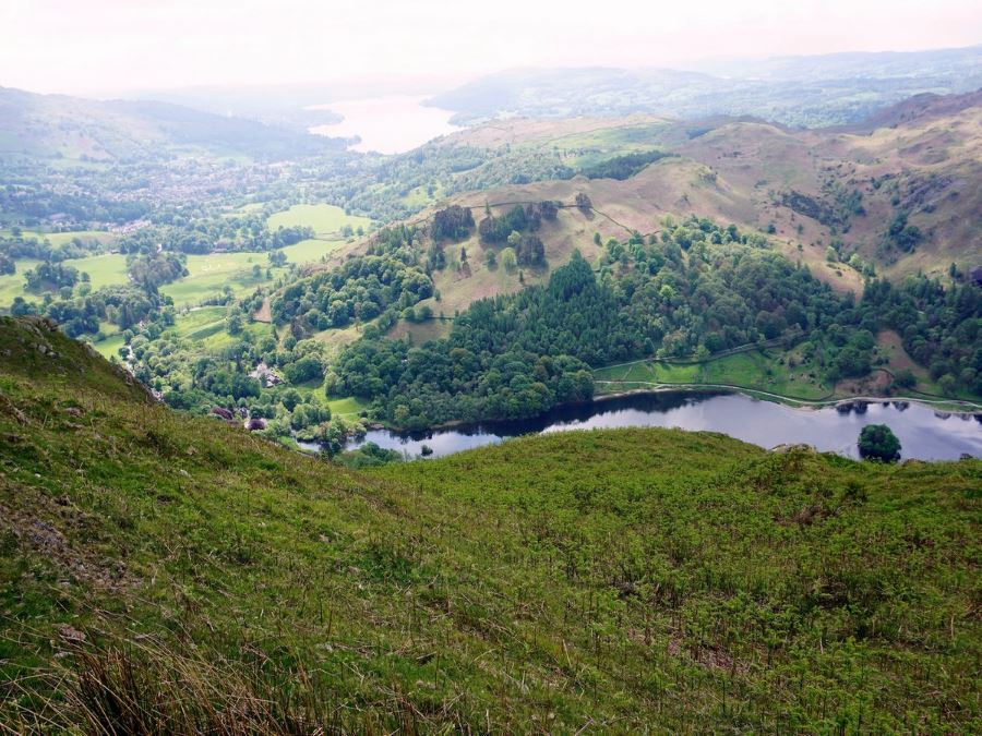 Rydal on the Fairfield Horseshoe Hike in Lake District, England