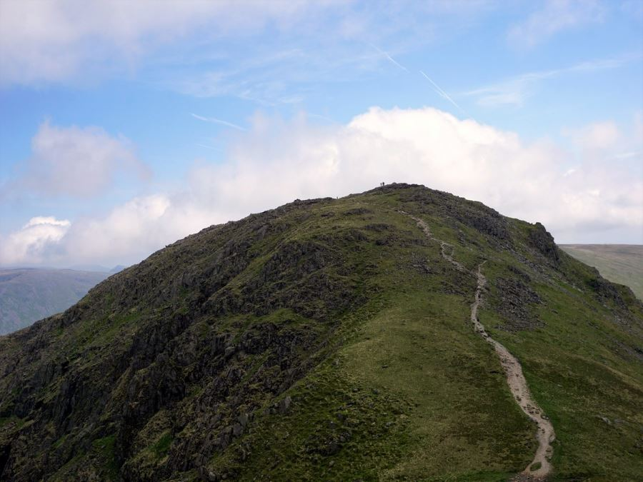 Top views from the Fairfield Horseshoe Hike in Lake District, England