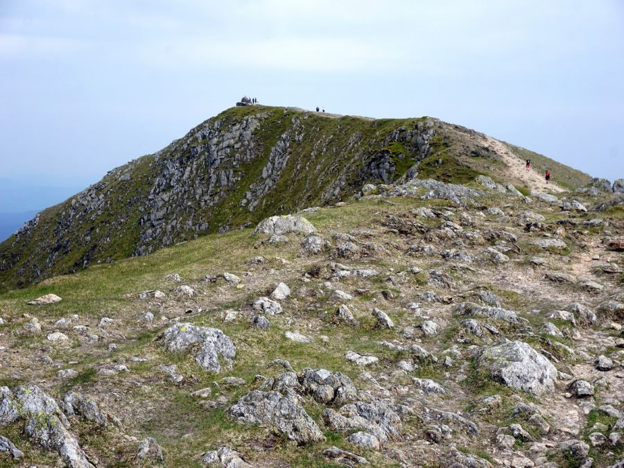 The summit of the Old Man of Coniston Circuit
