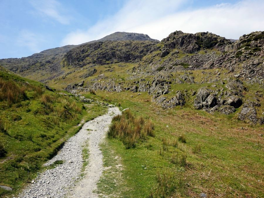 On the way up of the Old Man of Coniston Circuit