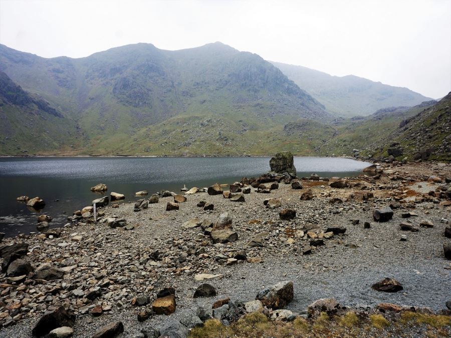 Tarn on the Old Man of Coniston Circuit