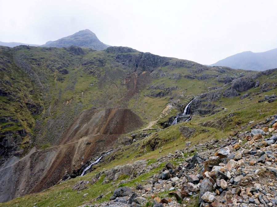 Waterfalls on the Old Man of Coniston Circuit