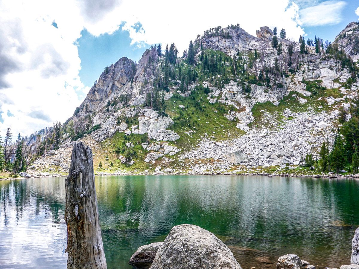 Amphitheater Lake trail is one of 10 best hikes in Grand Tetons