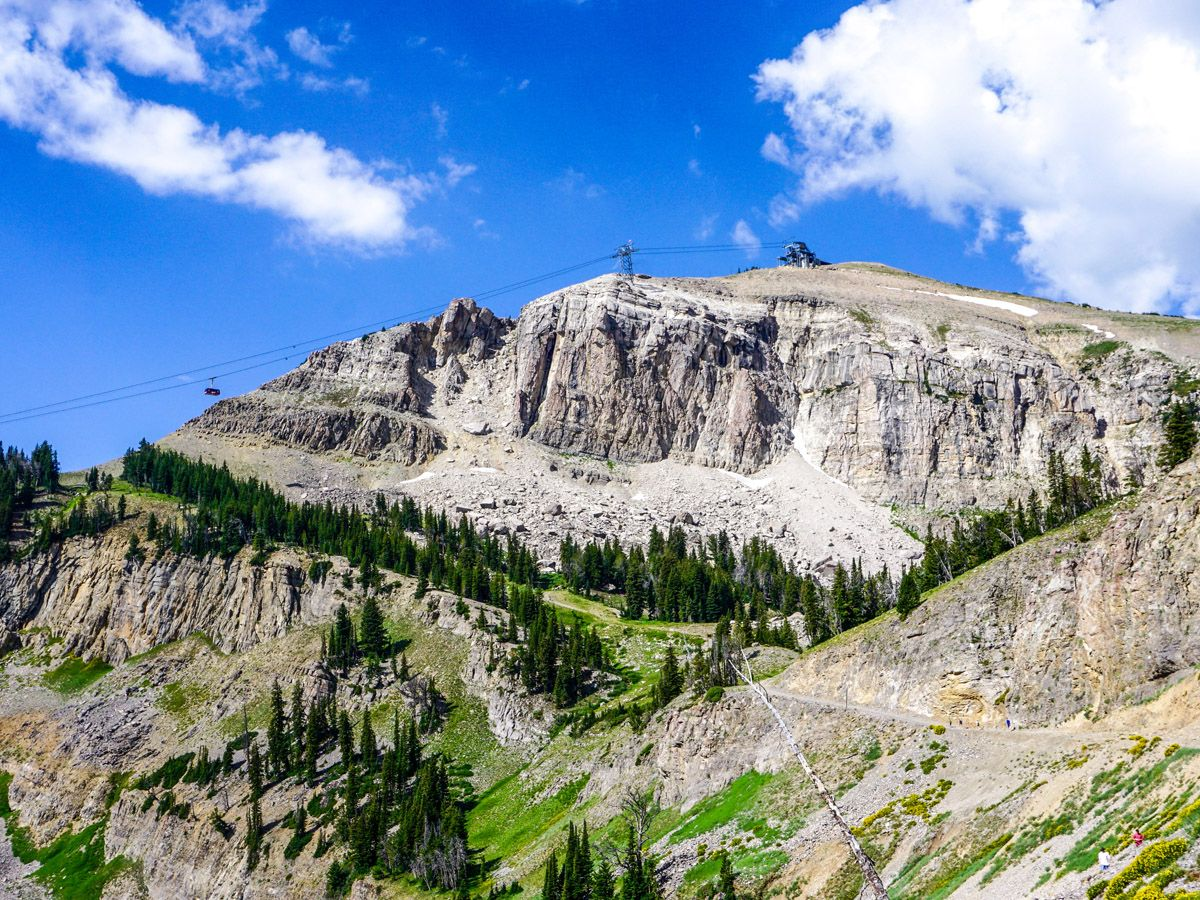 Summit trail Jackson Hole Mountain Resort is one of 10 best hikes in Grand Tetons