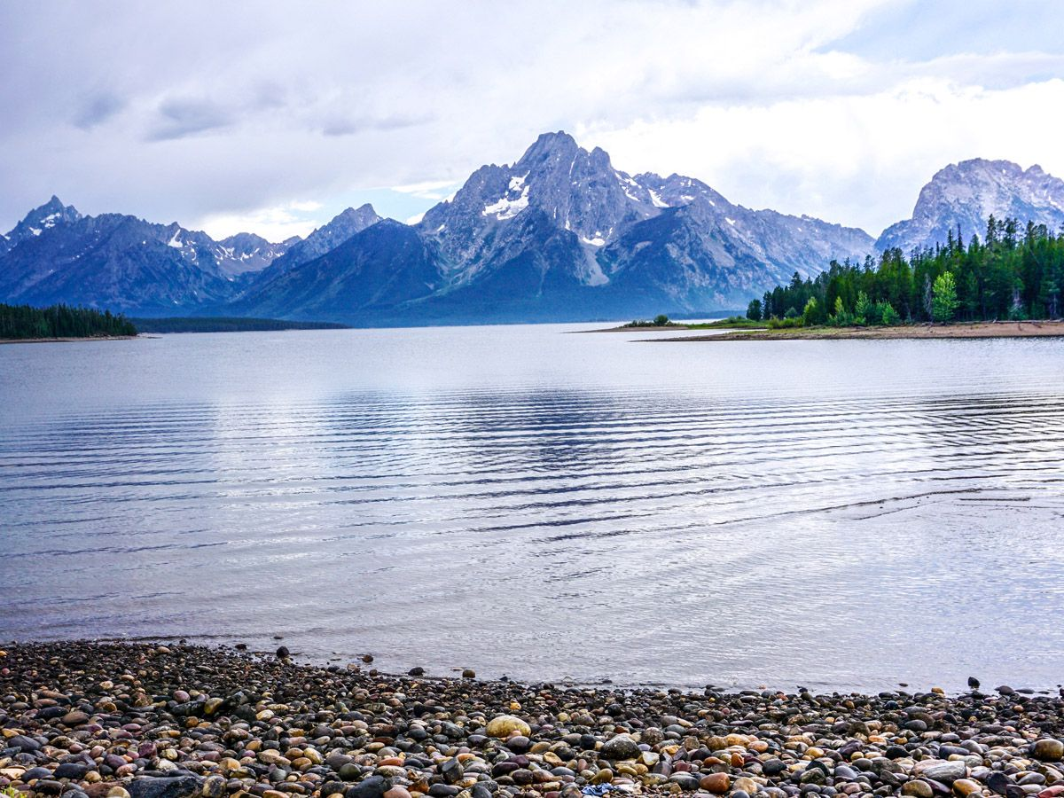 Colter Bay trail is one of 10 best hikes in Grand Tetons
