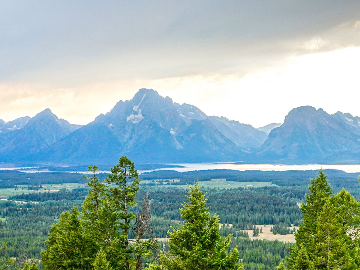 Grand View Point trail is one of 10 best hikes in Grand Tetons